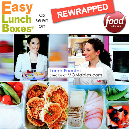 EasyLunchboxes on Food Network's  REWRAPPED