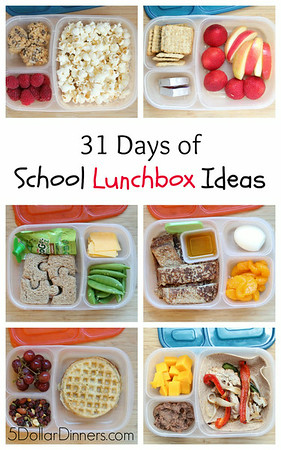 Yummy lunch ideas for packed lunch boxes easylunchboxes 31 days of school lunchbox ideas forumfinder Gallery