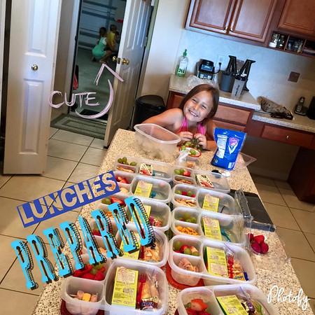 Lunches Prepared