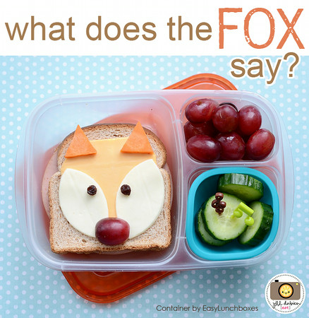 "What does the fox say? ""It's lunchtime"""