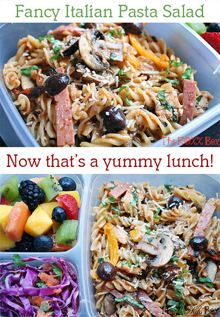 Fancy Italian Pasta Salad