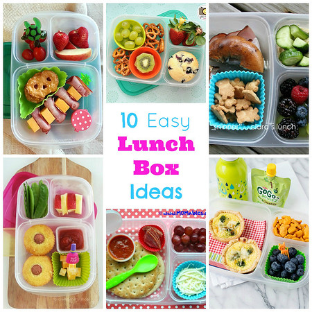 Easy Lunches with EasyLunchboxes