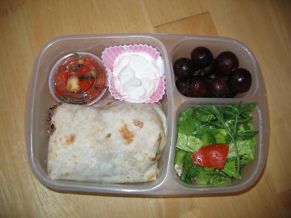 Burrito for lunch