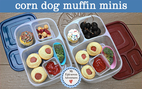 Corn Dog Muffin Minis