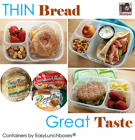 Thin Bread, Great taste. Lunchbox ideas.