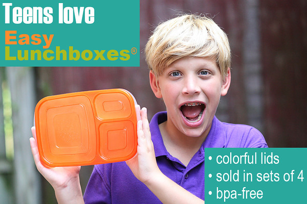 Teens love EasyLunchboxes