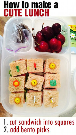 How to make a cute lunch