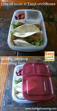 Lock your packed lunch
