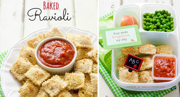 Baked Ravioli to go!