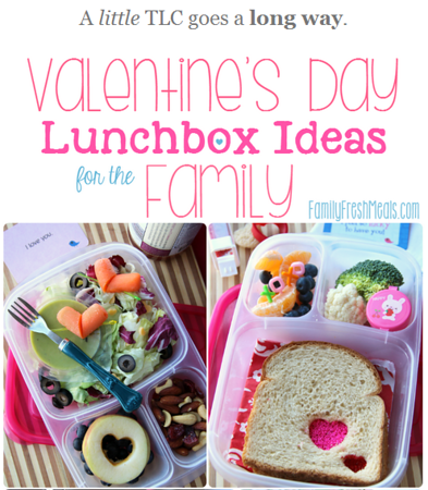 Valentine's Day Lunches