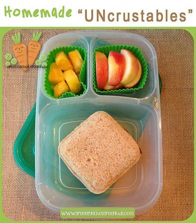 """Homemade """"UNcrustables"""""""