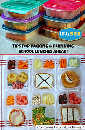 Lunch packing tips