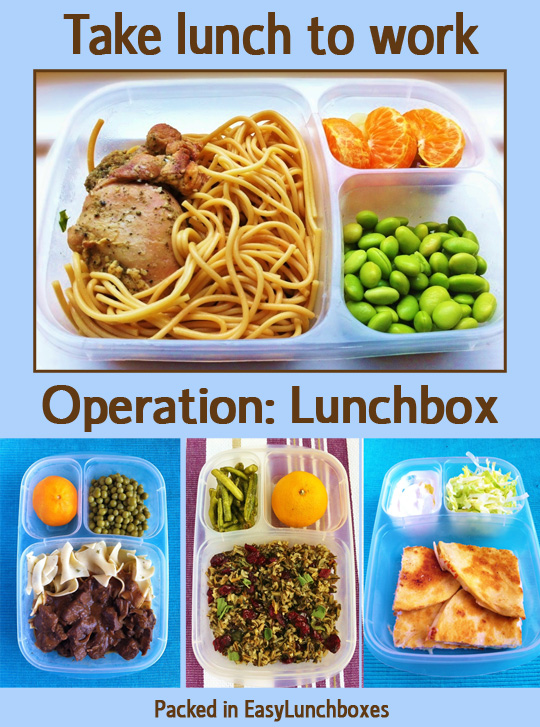 Take lunch to work!