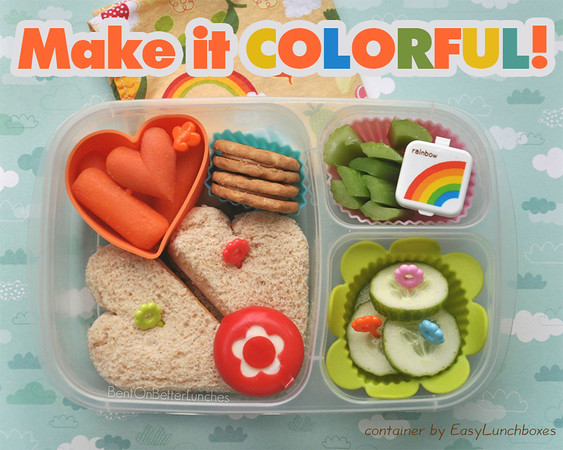 Color popping lunches