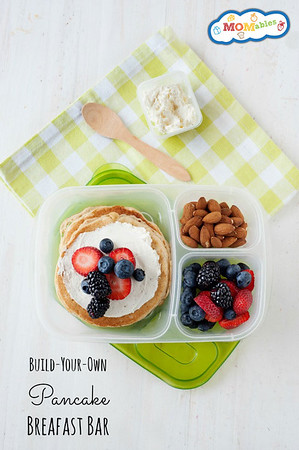 Pancake Breakfast makes a fun lunch!