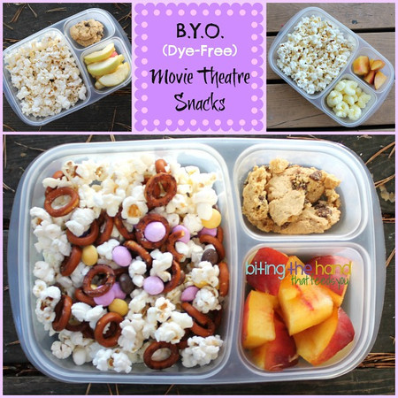 BYO Movie Theatre snacks