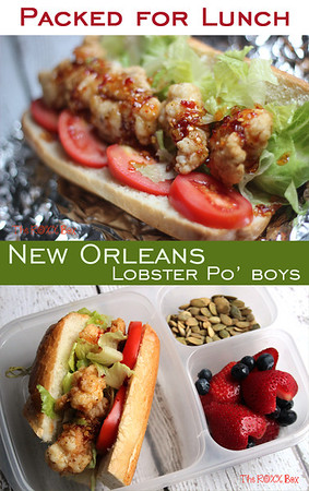 Lobster Po' Boys for lunch!