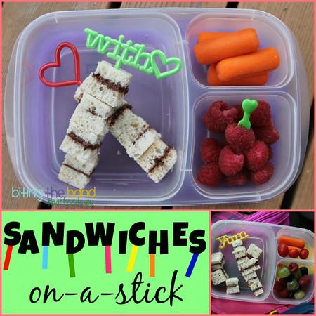 Sandwiches on a stick