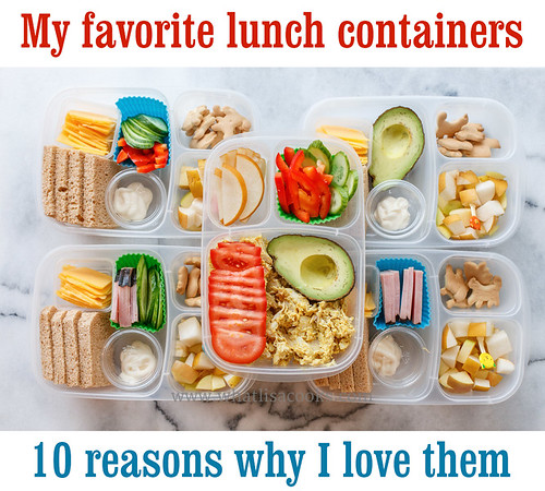 10 Reasons To Use EasyLunchboxes