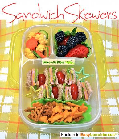 Sandwich Skewers