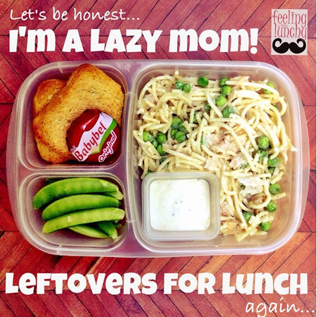 Leftovers for lunch