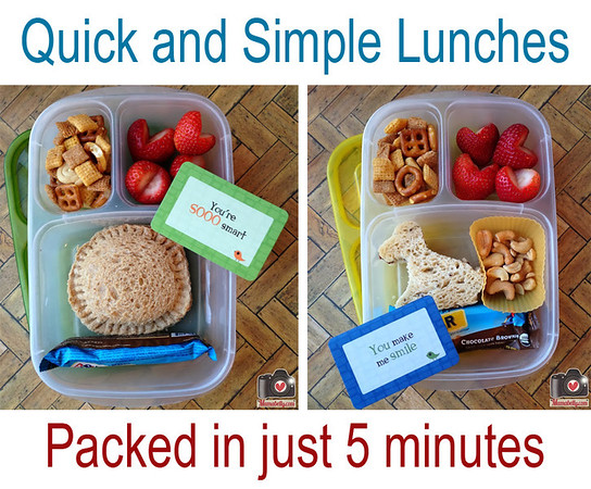 Pack lunch in 5 minutes