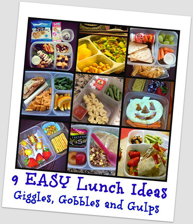 Pack lunches fast with EasyLunchboxes