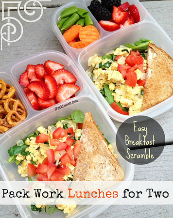 Pack work lunches for two