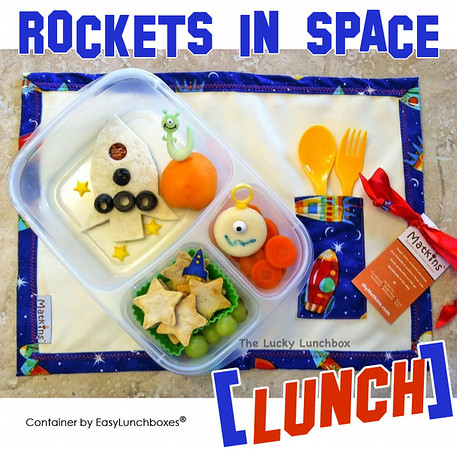 Rocket yourself to lunch time