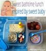 Sweet Baby! Sweet Lunch!