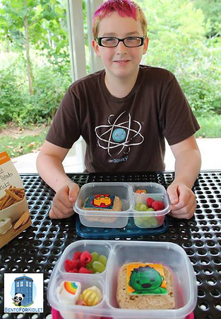Packing lunches for teens and kids with hearty appetites