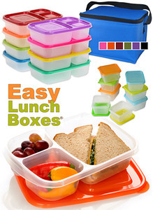 The many colors of EasyLunchboxes