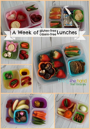 Gluten-Free and Casein-Free Lunches