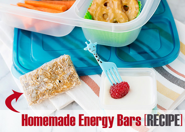Energy Bars for Lunch