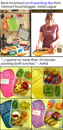 Packing Lunch Quickly
