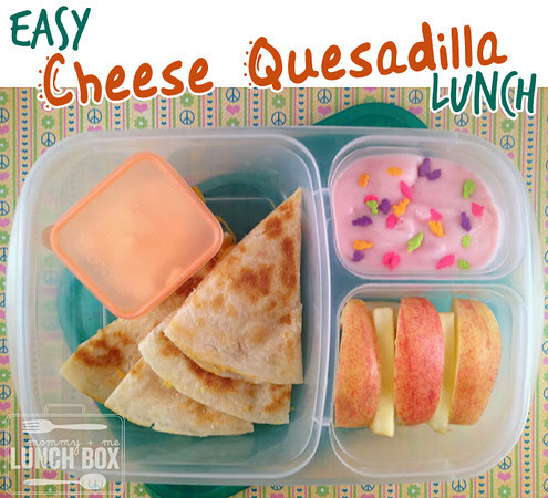 Easy Cheese Quesadilla