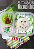 Snowman Lunchable