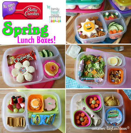 Spring Lunch Boxes!