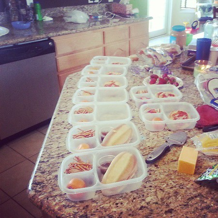 Lunch Packing for the Family