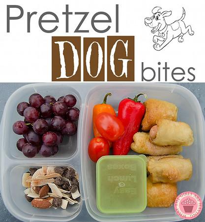 Pretzel Dog Bites