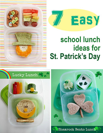 St. Patrick's Day lunch box ideas