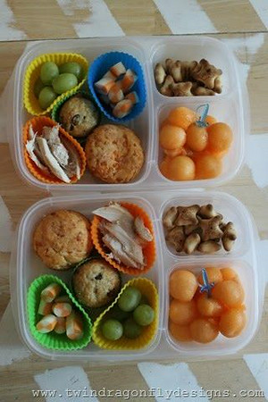 Melon Balls in EasyLunchboxes