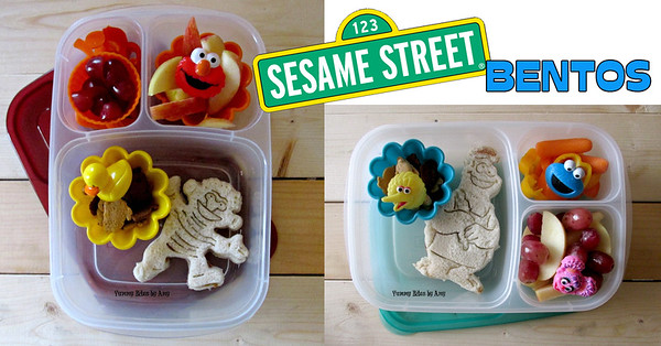 Sesame Street Lunches