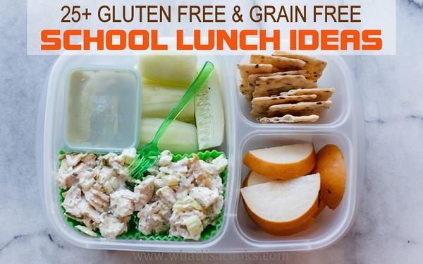 Gluten/Grain free lunch ideas
