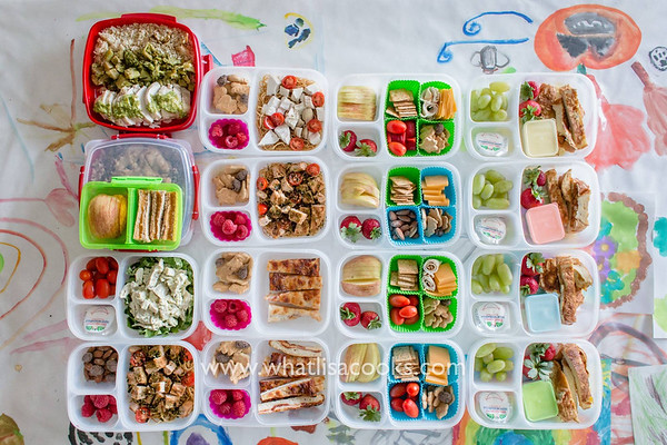 Pack Lunches Fast