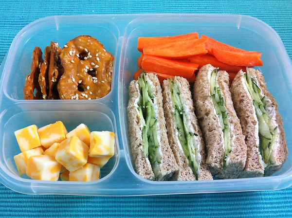 Mini Sandwiches for Lunch