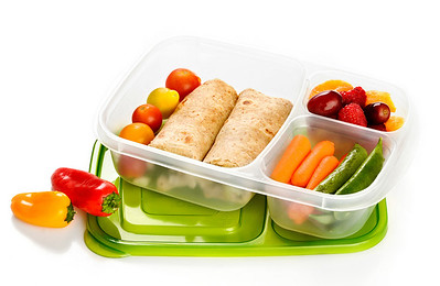 Hi Res Yummy Lunch in an EasyLunchbox Container.