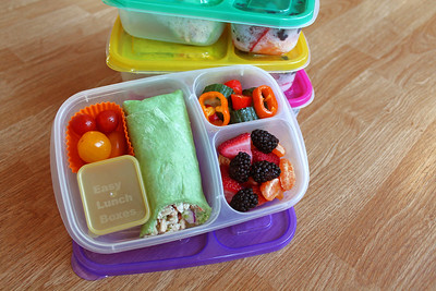 Lunches packed in EasyLunchboxes
