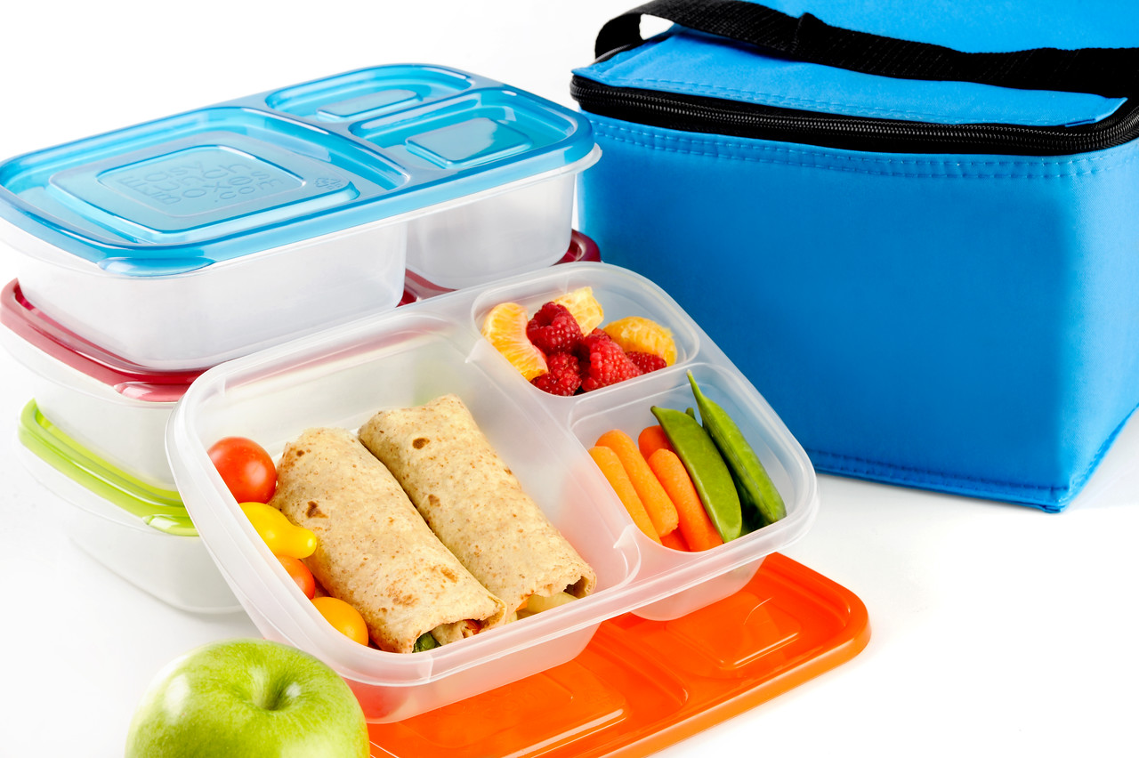 Hi Res Containers and a cooler bag - The EasyLunchbox System.