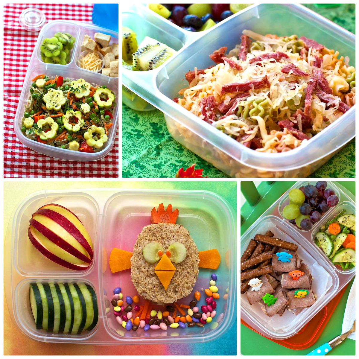 examples of lunch recipes from cookbook